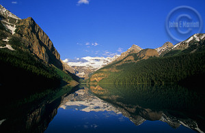 Lake Louise is startlingly beautiful.