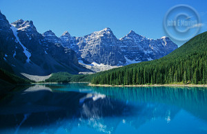 Banff National Park is a visual splendor.