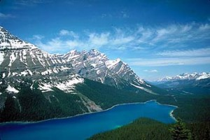 peytolake 300x200 Banff Scenic Drives: From Banff National Park to Jasper