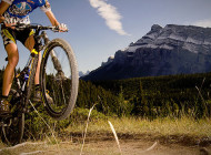 Mountain biking in Banff National Park