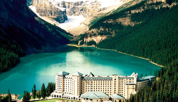 Image result for Lake Louise – Banff National Park, Alberta